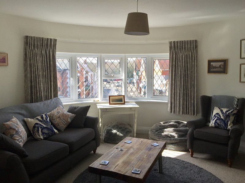 Lounge with westerly aspect of High Street