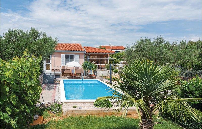 Nice home in Jadrija with WiFi and 2 Bedrooms (CDV394), holiday rental in Jadrija