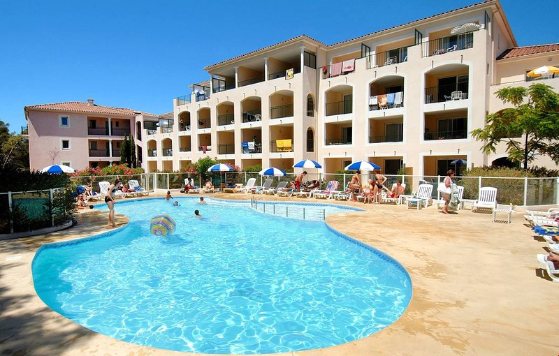 When you stay in our rental, you'll have access to the outdoor pool--open during summer!