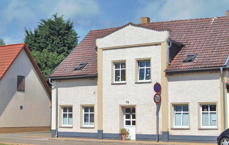 Nice home in Lassan with 0 Bedrooms (DMK217), holiday rental in Rankwitz
