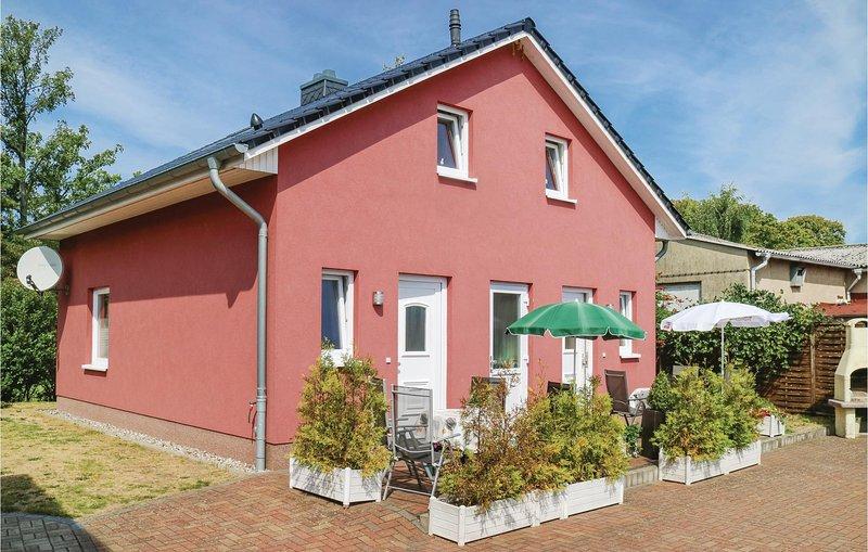 Amazing home in Kühlungsborn with 1 Bedrooms (DMK407), holiday rental in Klein Bollhagen