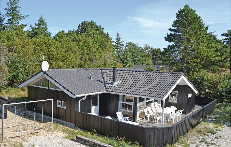 Beautiful home in Skagen w/ Sauna, WiFi and 4 Bedrooms, holiday rental in Hulsig