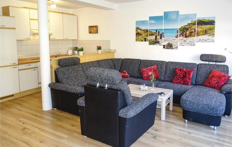 Stunning home in Wismar with 1 Bedrooms (DMK604), holiday rental in Wismar