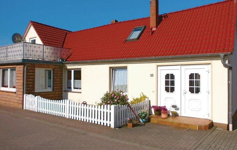 Amazing home in Elmenhorst-Lichtenhag. with 1 Bedrooms (DMK532), vacation rental in Diedrichshagen