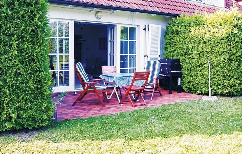 Beautiful home in Zempin with 1 Bedrooms (DMU147), holiday rental in Zempin