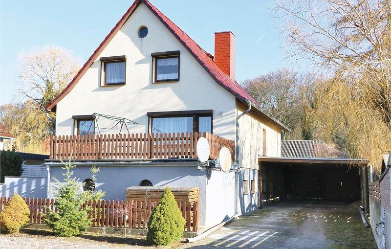 Amazing home in Koserow with 1 Bedrooms (DMU301), holiday rental in Uckeritz