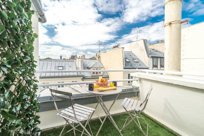 Merci Paris - Louvre Terrasse - 4p - Wifi - AC, aluguéis de temporada em Paris