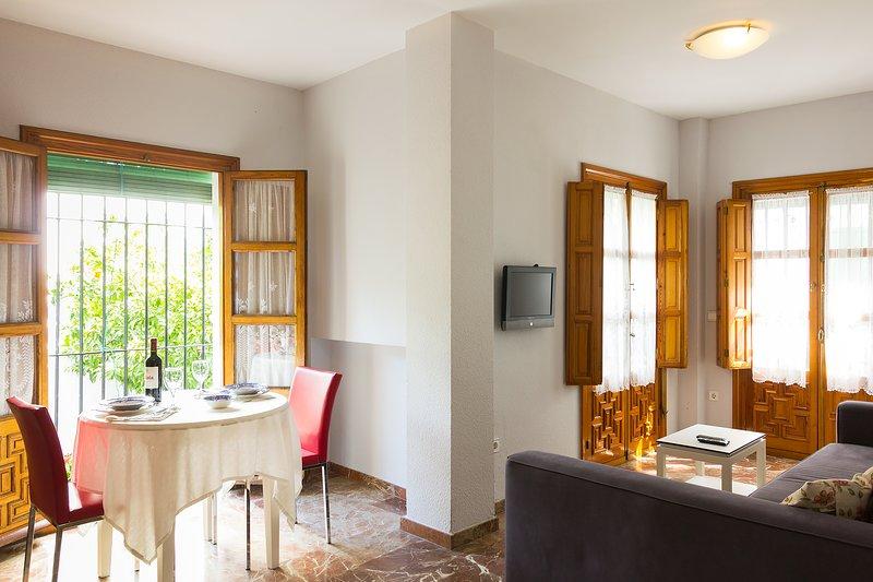 Plaza Santa Cruz C. Traditional apartment in Santa Cruz, holiday rental in Lora del Rio