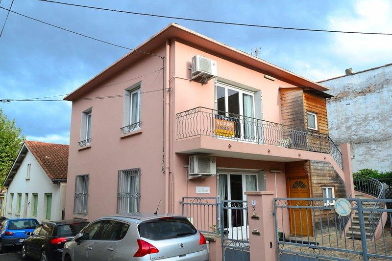 Extérieur, l'appartement se trouve au 1er étage