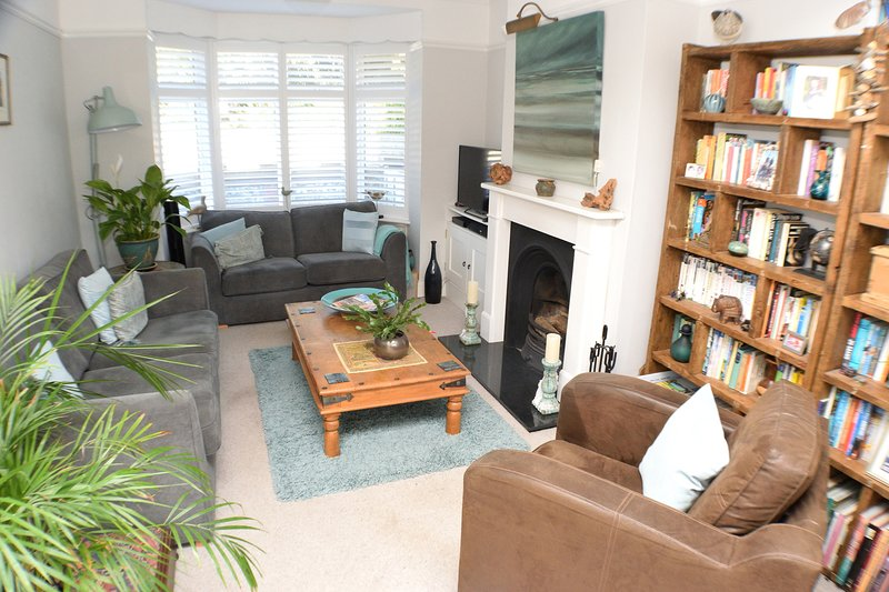Living room with access to the garden