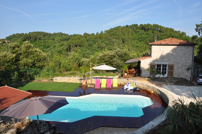 Les Bons Vivants Cévenols - gîte La Joie, holiday rental in Corbes