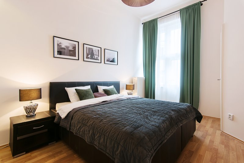 Stylish apartment in the center with A/C, vacation rental in Prague