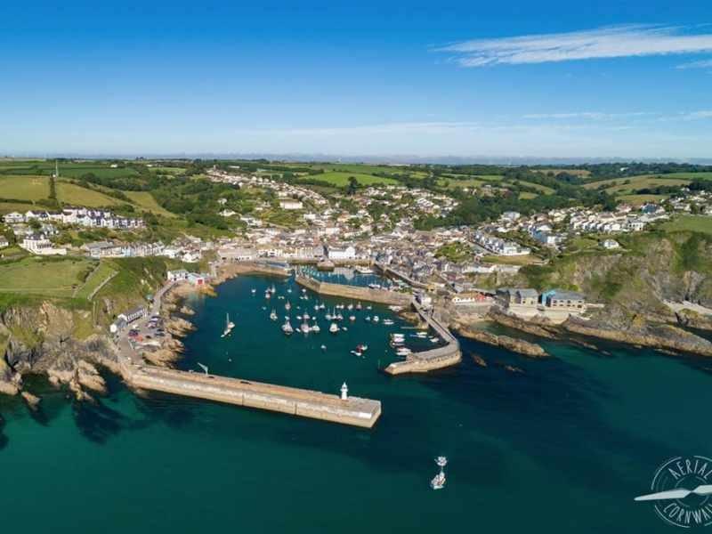 Mevagissey Aerial Cornwall