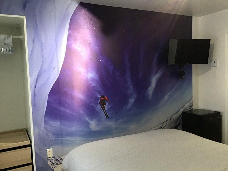 Hebergement La Villa Du Charme la chambre des skieurs, vacation rental in La Tuque