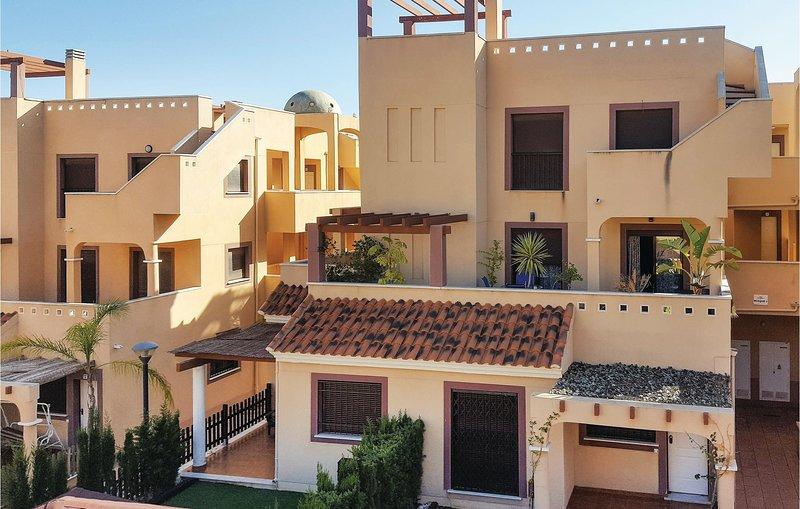 Amazing home in Águilas with 2 Bedrooms (ECC593), alquiler de vacaciones en Águilas