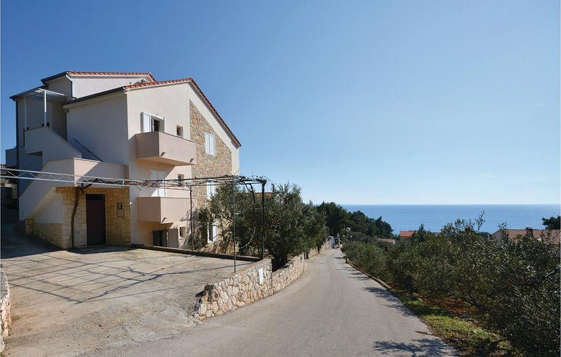 Beautiful home in Ivan Dolac with WiFi and 1 Bedrooms (CDH399), holiday rental in Vrisnik