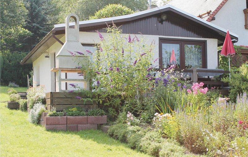 Stunning home in Geraberg with 1 Bedrooms (DTH907), vacation rental in Gehren