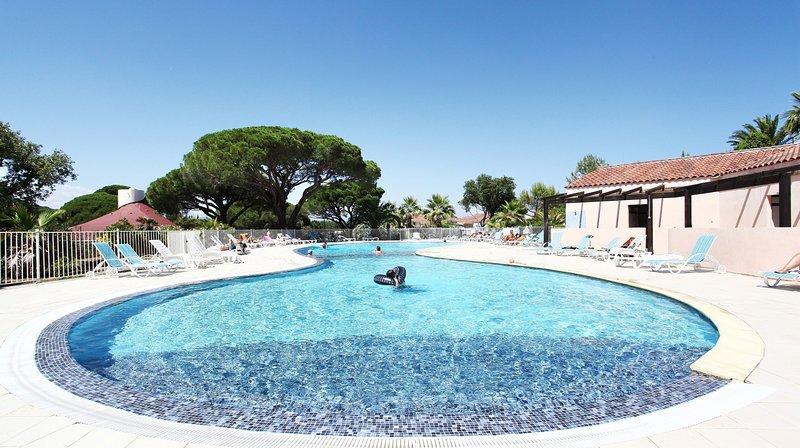 La piscina está abierta durante el verano!