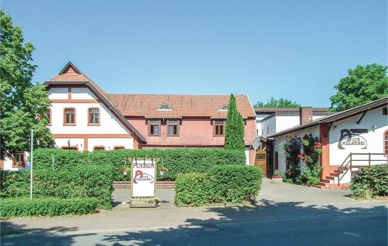 Amazing home in Petershagen OT Frille with 9 Bedrooms (DWE139), Ferienwohnung in Bad Eilsen
