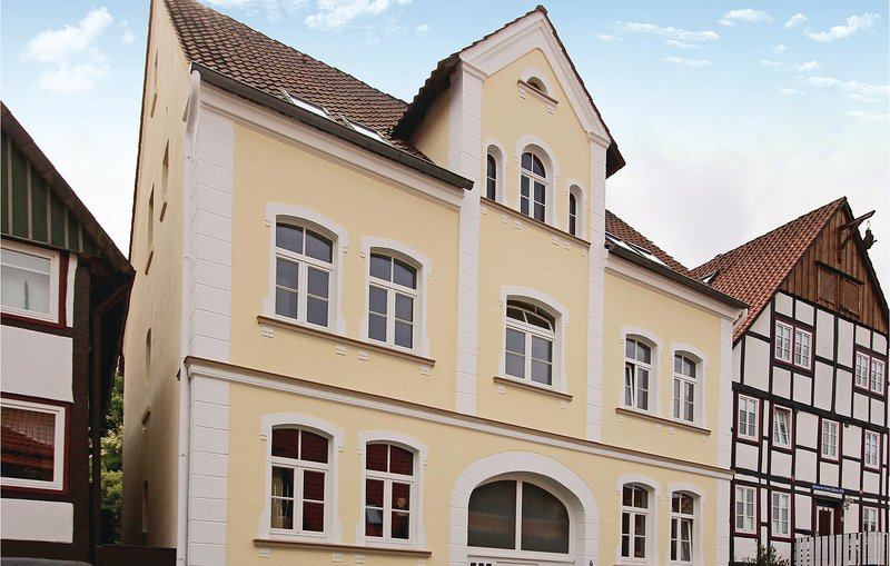 Stunning home in Schieder-Schwalenberg with WiFi and 1 Bedrooms (DWE161), casa vacanza a Hoxter