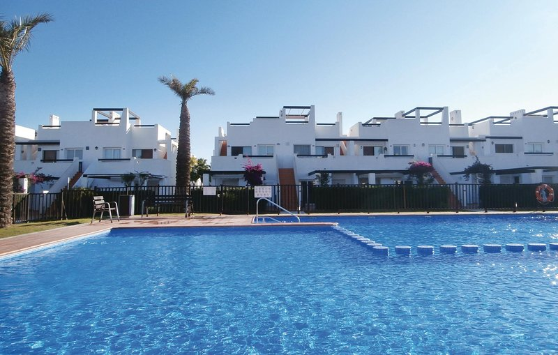 Nice home in Alhama de Murcia with WiFi and 2 Bedrooms (ECC446), holiday rental in Camposol