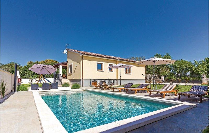 Amazing home in Liznjan with WiFi and 3 Bedrooms (CIZ231), alquiler de vacaciones en Sisan