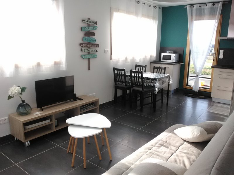 Loue appartement 2 personnes, vakantiewoning in Roscoff