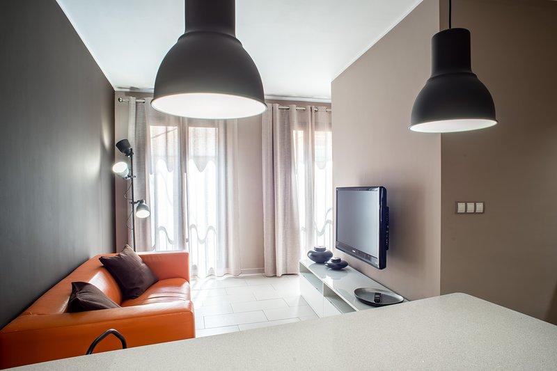 Moderno Apartamento a 2 minutos del Museo Dalí con llave inteligente, holiday rental in Figueres