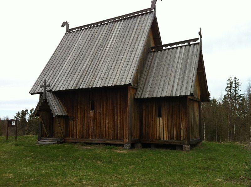 Stabkirche in Ekshärad