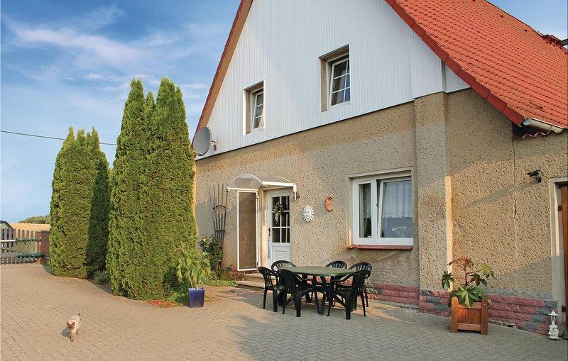 Stunning home in Hilgendorf with 1 Bedrooms (DMV140), holiday rental in Grevesmuehlen