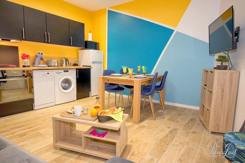 Alma · Appartement chic et cosy près de la plage  Modifier l'annonce, vacation rental in Le Havre