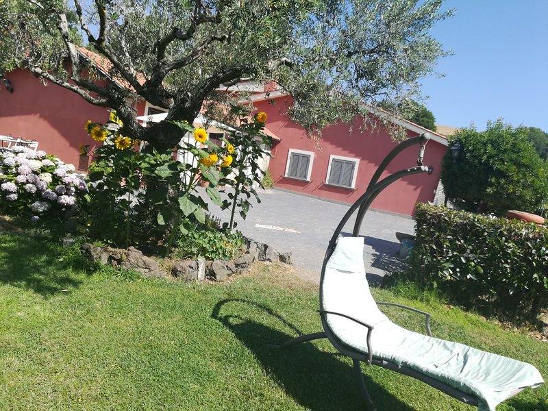 il poggio degli ulivi, vacation rental in Monterosi