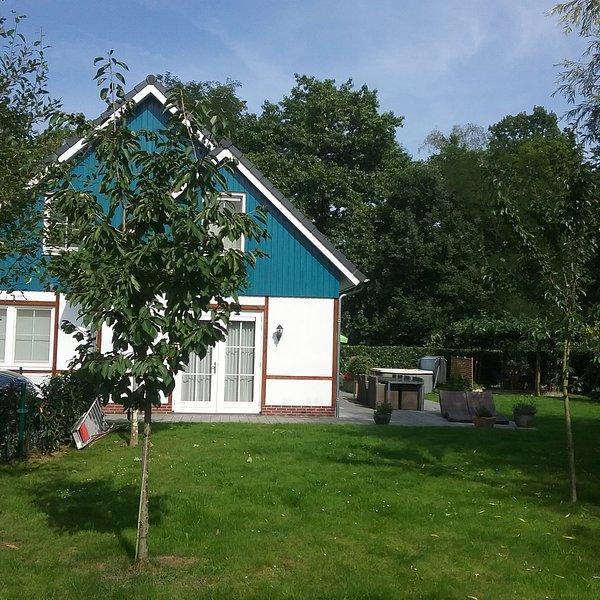 huis met tuin en terras