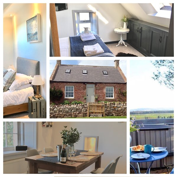 Whitfield Bothy Cottage with Hot Tub, Coldingham, holiday rental in Borders