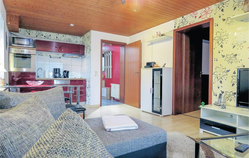 Stunning home in Brensbach OT  Wersau with WiFi and 1 Bedrooms (DHE257), location de vacances à Oberzent