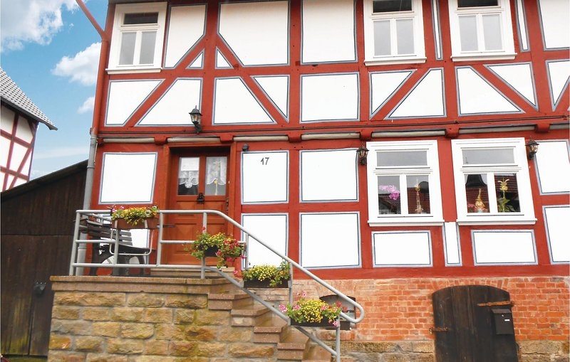 Beautiful home in Spangenberg with 4 Bedrooms (DHE254), holiday rental in Melsungen