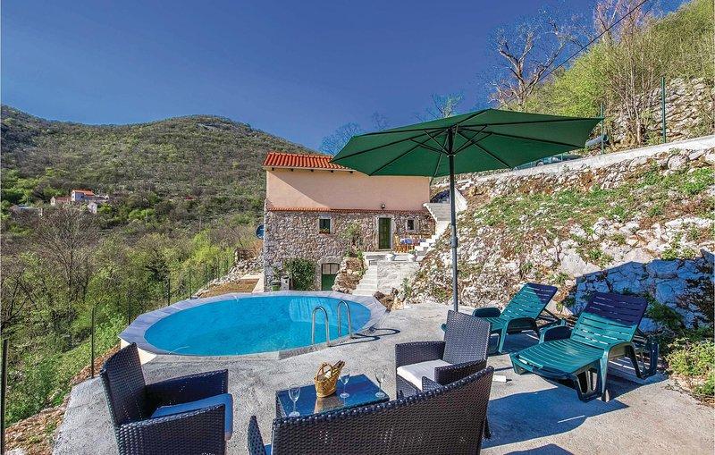Amazing home in Gornji Zagon with WiFi and 2 Bedrooms (CKN460), alquiler vacacional en Breze