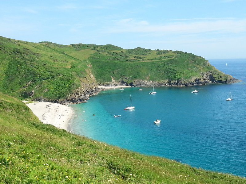 Lantic Bay, near Polperro
