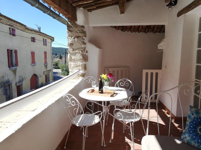 La terrasse/ The terrace