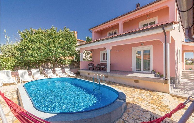 Nice home in Skatari with WiFi and 3 Bedrooms (CIP858), holiday rental in Skatari