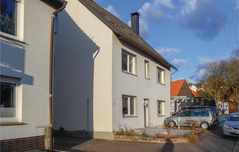 Beautiful home in Warburg with WiFi and 1 Bedrooms (DNW150), holiday rental in Hofgeismar