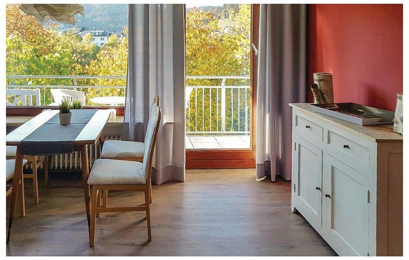 Nice home in Willingen-Schwalefeld with WiFi and 1 Bedrooms (DNW162), location de vacances à Schwalefeld