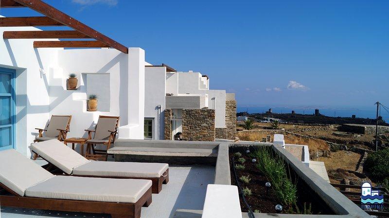 Inspire Aegean Sea  Luxury Houses - Triantaros II, holiday rental in Triantaros