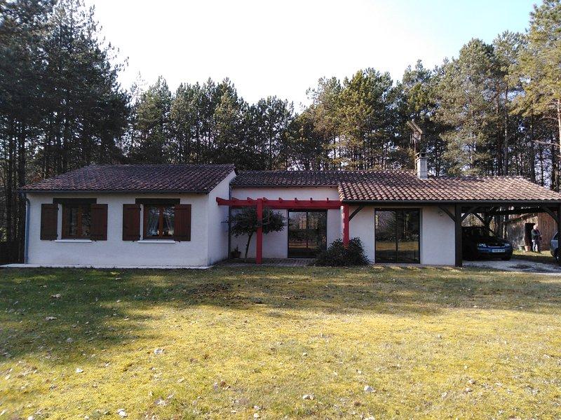 Charmante maison sous les pins, holiday rental in Clermont de Beauregard
