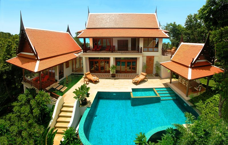 Ban Tawan, 3 Bedroom Luxury Sea View Holiday Villa, holiday rental in Mae Nam