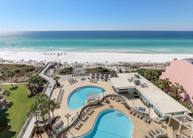 'Island Echoes' ~ Tides 805 - 8th floor - gorgeous Gulf front view, vacation rental in Miramar Beach