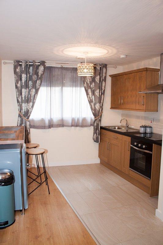 208 beautiful studio apartment, alquiler de vacaciones en Bradford