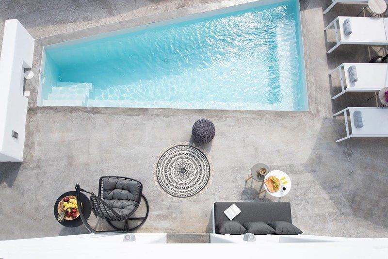 Luxury Cycladic House with Plunge Pool, location de vacances à Vothonas