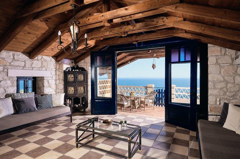Diamond Suites / Urania - 2 Bedroom Suite, location de vacances à Xirokastello
