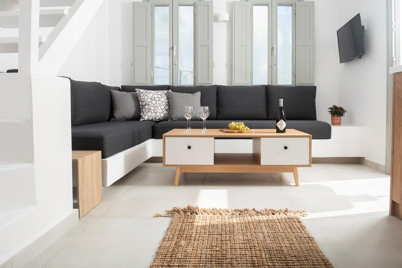 Luxury Suite with Sunrise and Aegean Sea View - 4, location de vacances à Vothonas